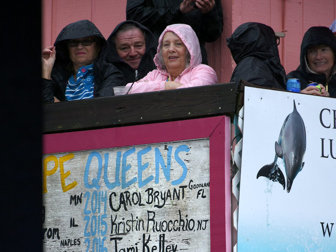 """Mackenzie Rubenzer's name will be added to the """"Wall of Shame"""" as 2019Buzzard Lope Queen. Stan's Idle Hour restaurant held The 35th annual Mullet Festival over the weekend, a rain and beer-soaked celebration."""