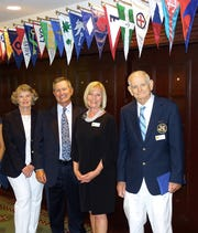 The 2019 MCC Bridge, Commodore Deena Procopio, V/C Todd Whitney, Secretary Julie Whitney and Treasurer John  Nevalus.