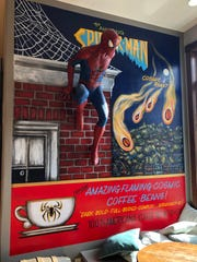 One of the most popular things at Milwaukee Street Traders is the Spiderman Room.