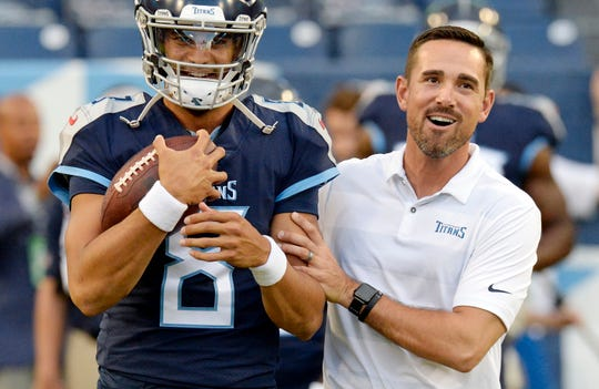 New Packers coach Matt LaFleur worked with a young Marcus Mariota in his one year as offensive coordinator of the Tennessee Titans, but in Green Bay he'll have to earn the trust and respect of 35-year-old Aaron Rodgers, one of the game's best quarterbacks.