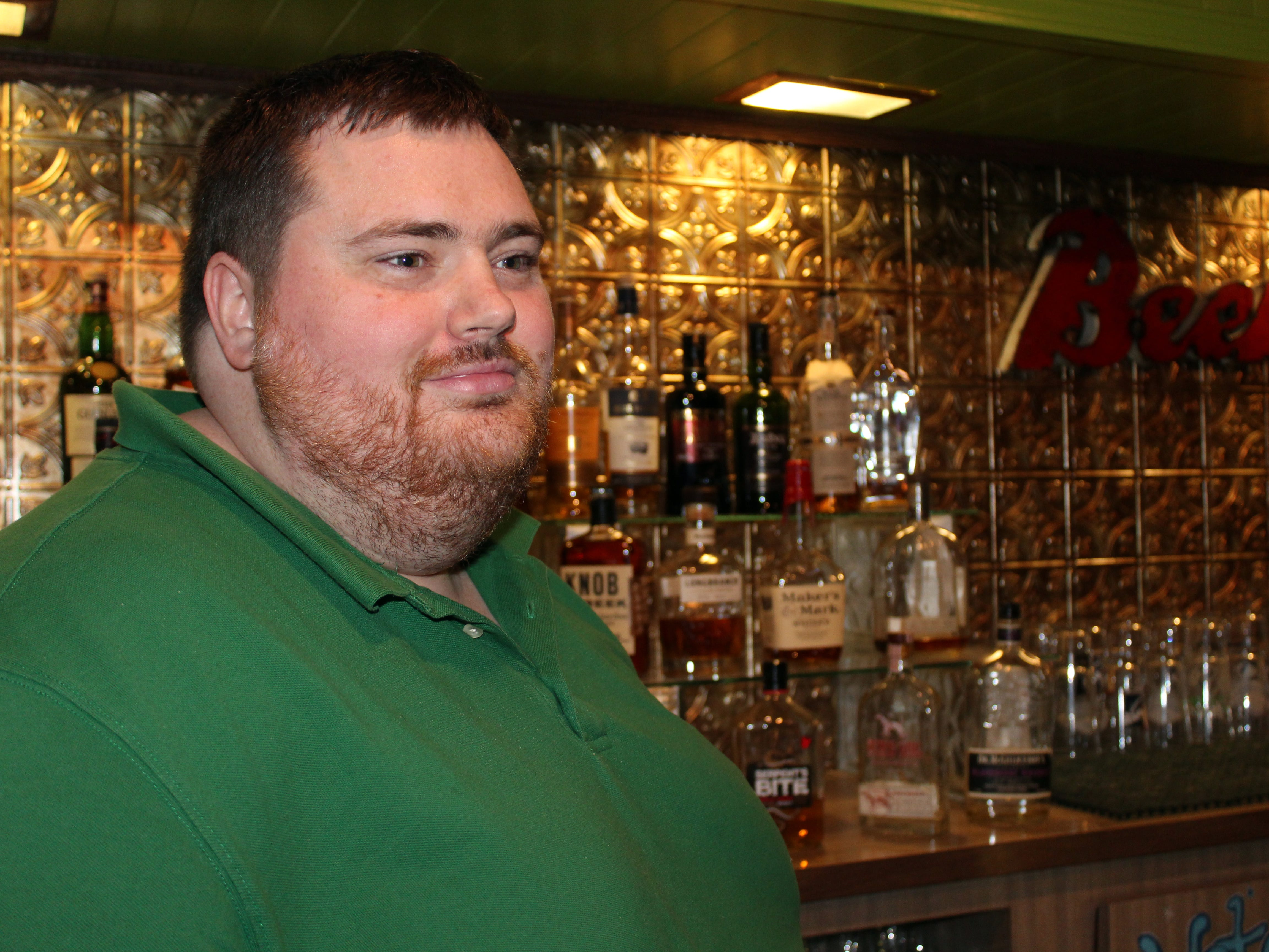 Jacob Walker, chef-owner of Green Dragon Brewpub in Fond du Lac, is hoping to add sturgeon to his menu.