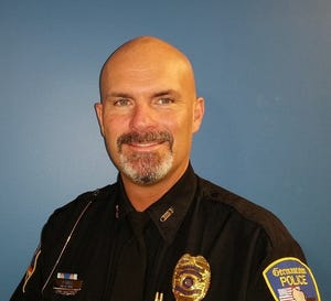 Germantown Police Chief Peter Hoell celebrated 30 years with the department April 17.