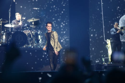 d41b6180d Panic! At The Disco performs at a sold-out Fiserv Forum in Milwaukee on
