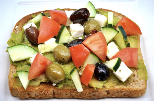 Milwaukee Street Traders offers a variety of avocado toast options, including the Mediterranean.
