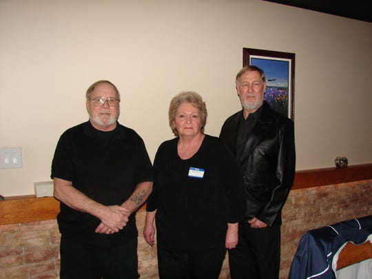Four new members were recently welcomed into the Benevolent and Protective Order of Elks in a Rite of Initiation Ceremony conducted by Wayne Markham, Exalted Ruler and President of the Mountain Home Elks on Jan. 22. Inducted were: (from left) David LaRose, Mary Bower and Wayne Bower. Not pictured: Steve Braun. The Benevolent and Protective Order of Elks is one of the largest fraternal organizations in the US with over one million members, in some 2,000 lodges including the Mountain Home Lodge, with more than 800 members in Baxter and surrounding counties. The Elks are well known for their support of youth activities and the veterans of the Armed Forces. For information, call (870) 425-3266.