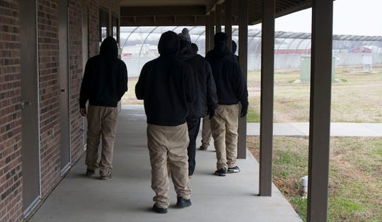 Youth are shown at the Dermott Juvenile Treatment Center in 2018. DYS expects to close the facility in Chicot County by July 1.
