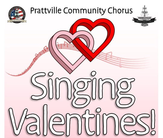 The Prattville Community Chorus will present Singing Valentines.