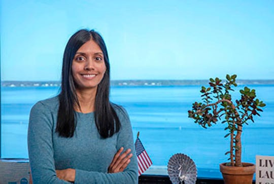 Sravanthi Bodanaa is a Naval Undersea Warfare Center (NUWC) Division Newport employee.