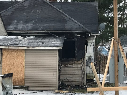 Authorities on Monday were investigating the third fire reported at a house in the 1000 block of West Powers Street in the past six days. Investigators determined Monday's event involved smoke, resulting from an early Sunday fire at the same address. The house also burned on Jan. 22.