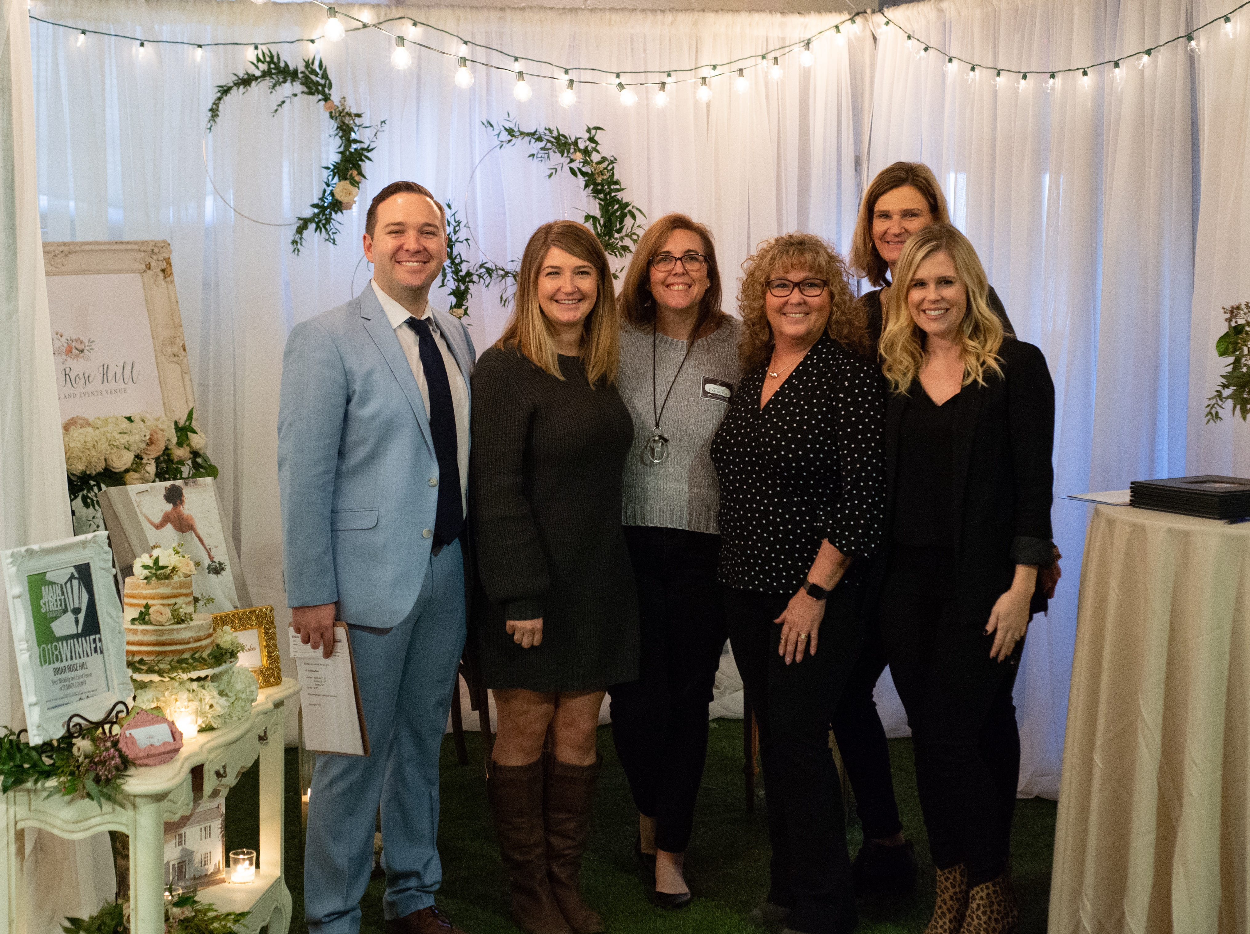 Briar Rose Hill, wedding and events venue, took time for the Sumner County Bridal Show at Epic Event Center in Gallatin on Sunday, Jan. 27.