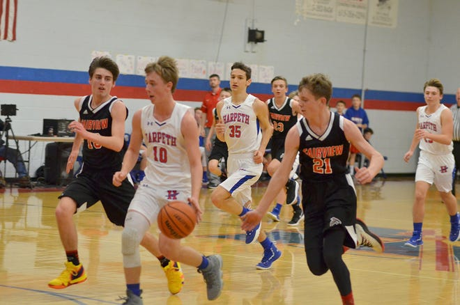 Fairview Middle School Falcons were narrowly defeated by Harpeth in MTAC Conference Tournament Janurary 17, 2019.