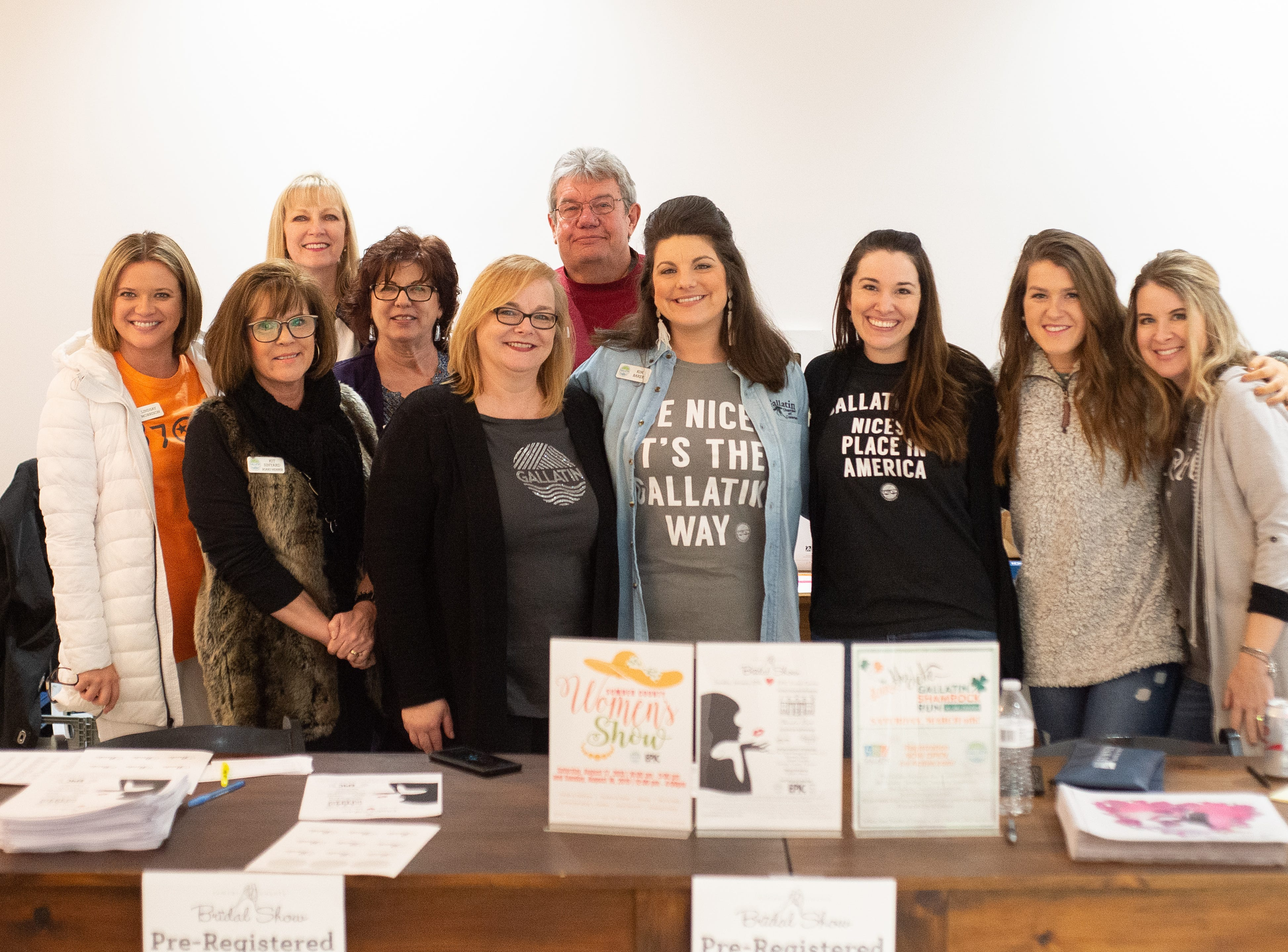 The Gallatin Chamber of Commerce presented the Sumner County Bridal Show with Epic Event Center in Gallatin on Sunday, Jan. 27.