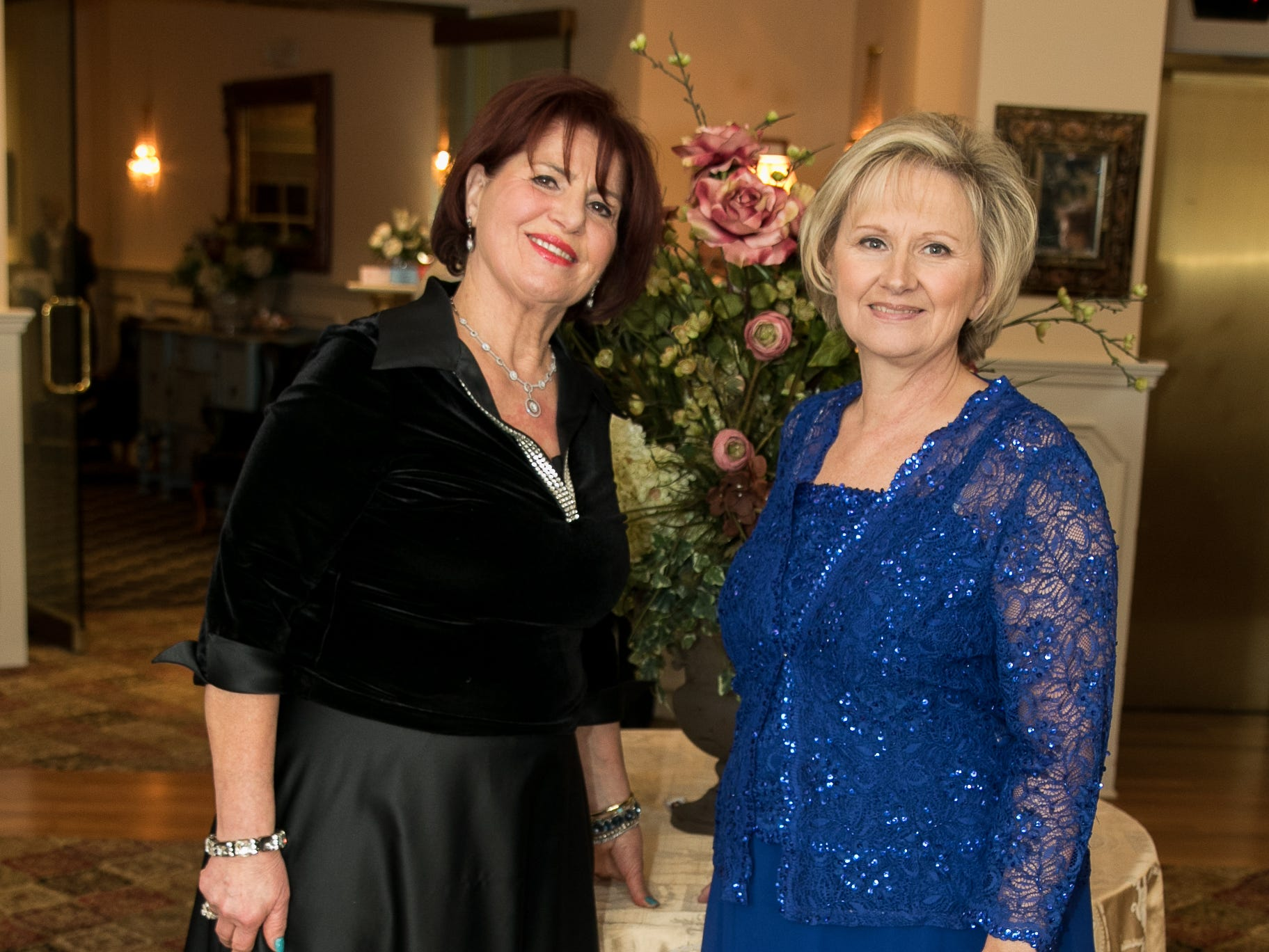 Emmy Eliya, Nancy DeRitter- Event co-chairs. The Midland Park Ramapo Eisenhower React/ Interact Clubs held it's sixth Annual fashion show and tricky tray at The Brick House in Wyckoff. 01/27/2019