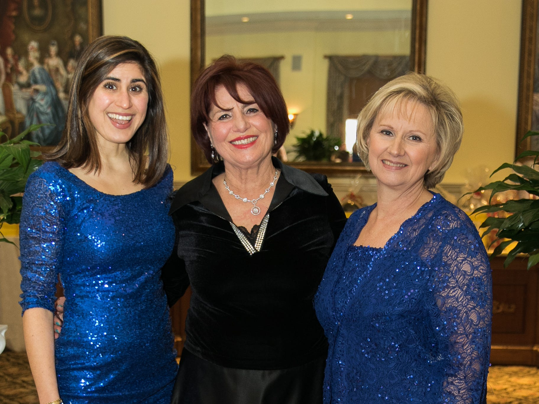 Gabrial Eliya with Emmy Eliya, Nancy DeRitter- Event co-chairs. The Midland Park Ramapo Eisenhower React/ Interact Clubs held it's sixth Annual fashion show and tricky tray at The Brick House in Wyckoff. 01/27/2019