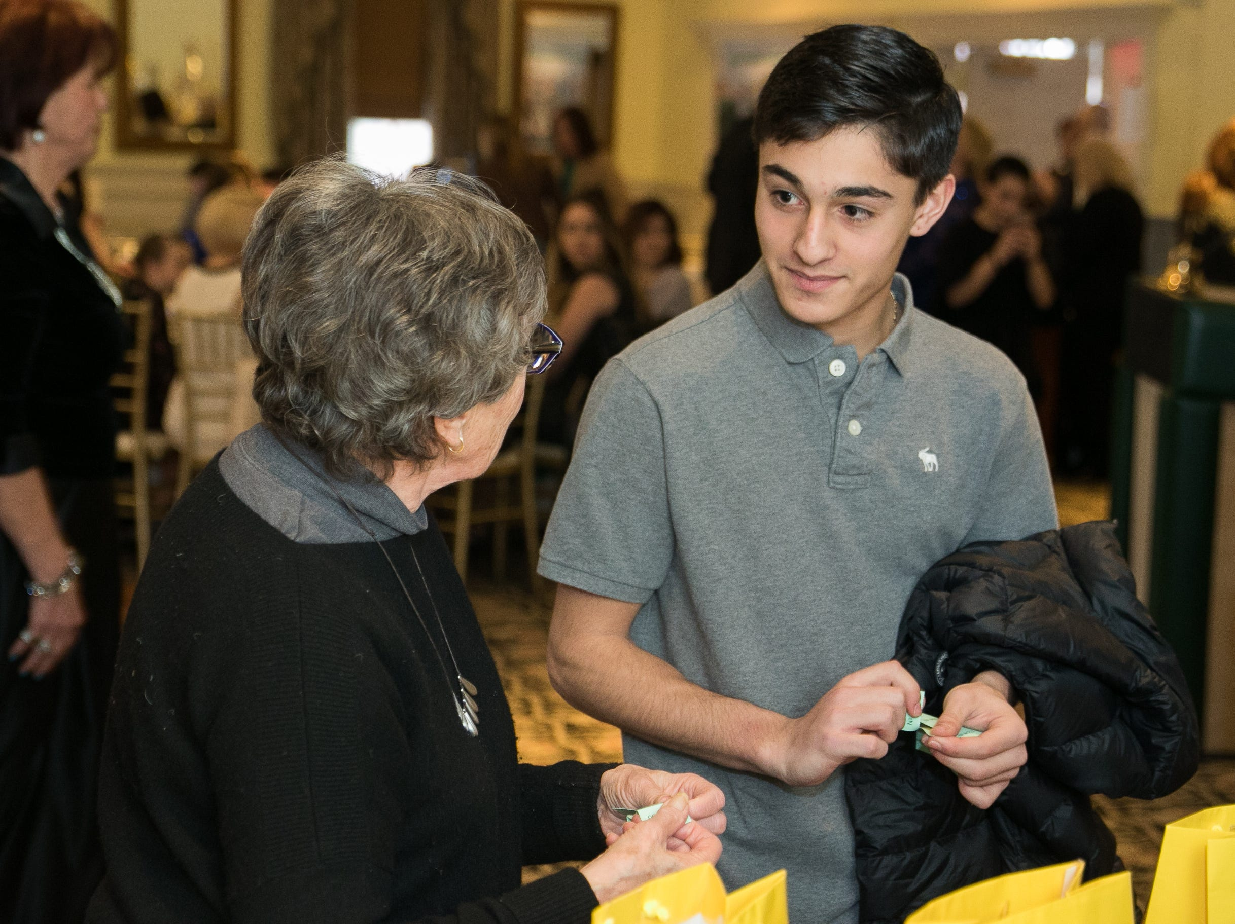 The Midland Park Ramapo Eisenhower React/ Interact Clubs held it's sixth Annual fashion show and tricky tray at The Brick House in Wyckoff. 01/27/2019