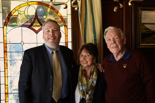 From left) Michael Lloyd, Alice Lloyd and Desmond Lloyd, the owners, who know how to make guests feel right at home