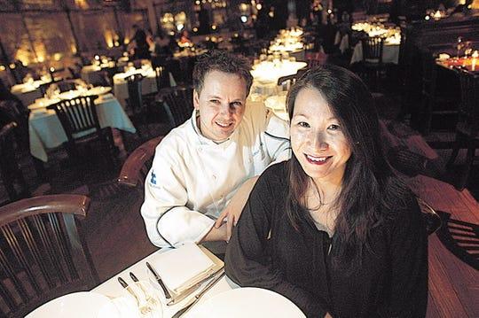 73357 PARAMUS, NJ 11/18/2010 CHAKRA:  Chakra chef and partner Thomas Ciszak and his wife general manager Evelyn Ciszak