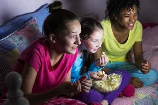 If you think your child might enjoy a sleepover but your concerns and anxieties are keeping you from allowing them to sleep out, Goldstein suggests speaking to somebody for some parenting advice.