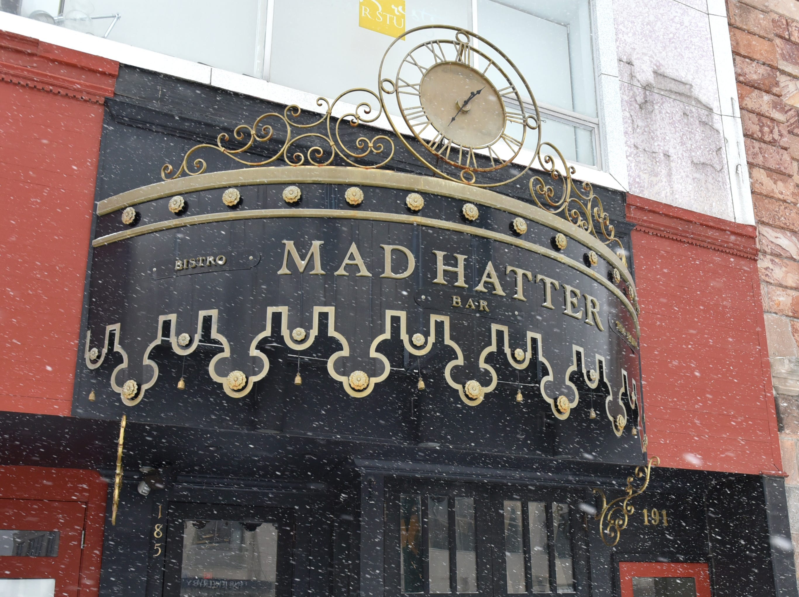 The Mad Hatter on Old Woodward in Birmingham.