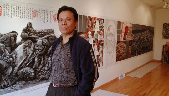 Professor Li Hu started as an assistant professor in 1994 and worked through the ranks as associate professor, to full professor of art, endowed professorship and emeritus professor at UW-Oshkosh.