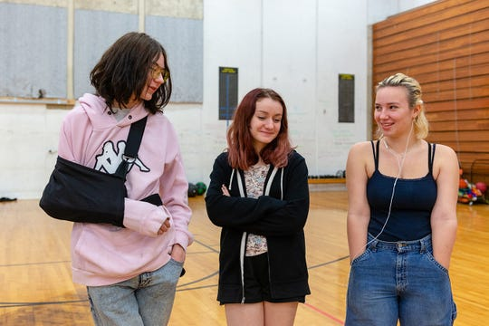 Students from Interagency at Queen Anne in Seattle gather in the gymnasium for a physical education class on Dec. 13, 2018.