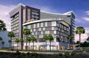 Luna by Giada and Pronto by Giada restaurants will be located on the ground floor of the proposed Caesars Republic Scottsdale hotel.