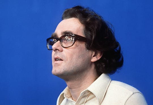 Portrait of French musician and composer Michel Legrand taken during the recording of the ORTF show in Paris on January 21, 1970