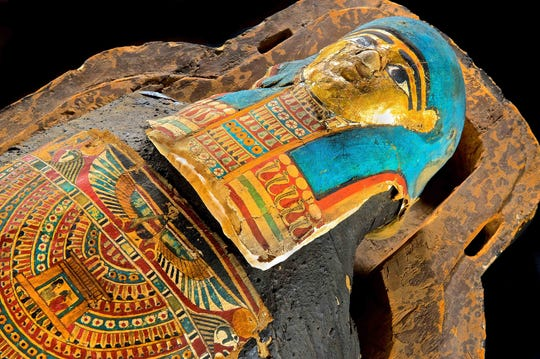 "Mummy known as Nes Hor is part of the ""Mummies of the World"" exhibit. The exhibit will be featured at the Arizona Science Center from Feb. 10-Sept. 2, 2019."