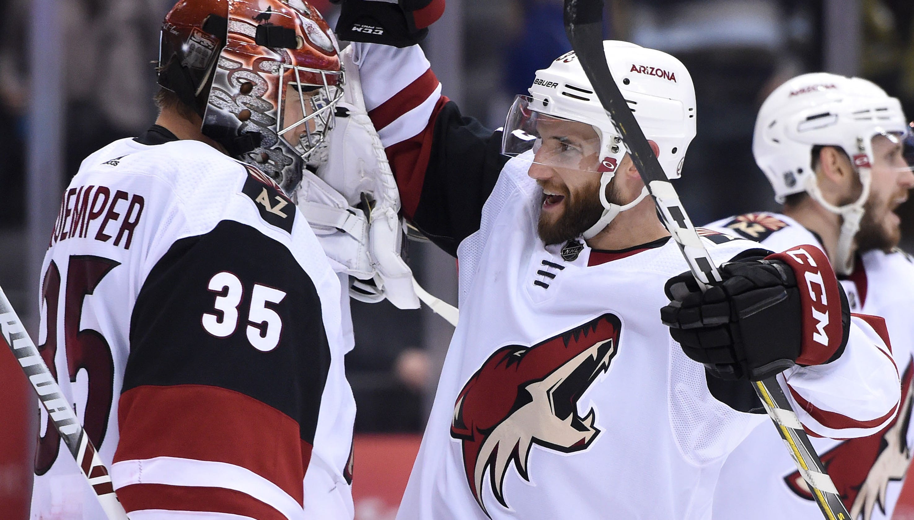 arrives 004e4 11b98 Arizona Coyotes generating NHL playoff buzz after surge in standings