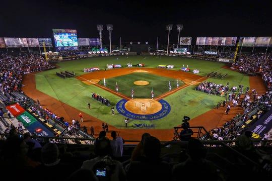 El estadio Rod Carew de Panama es la nueva sede de la Serie del Caribe.