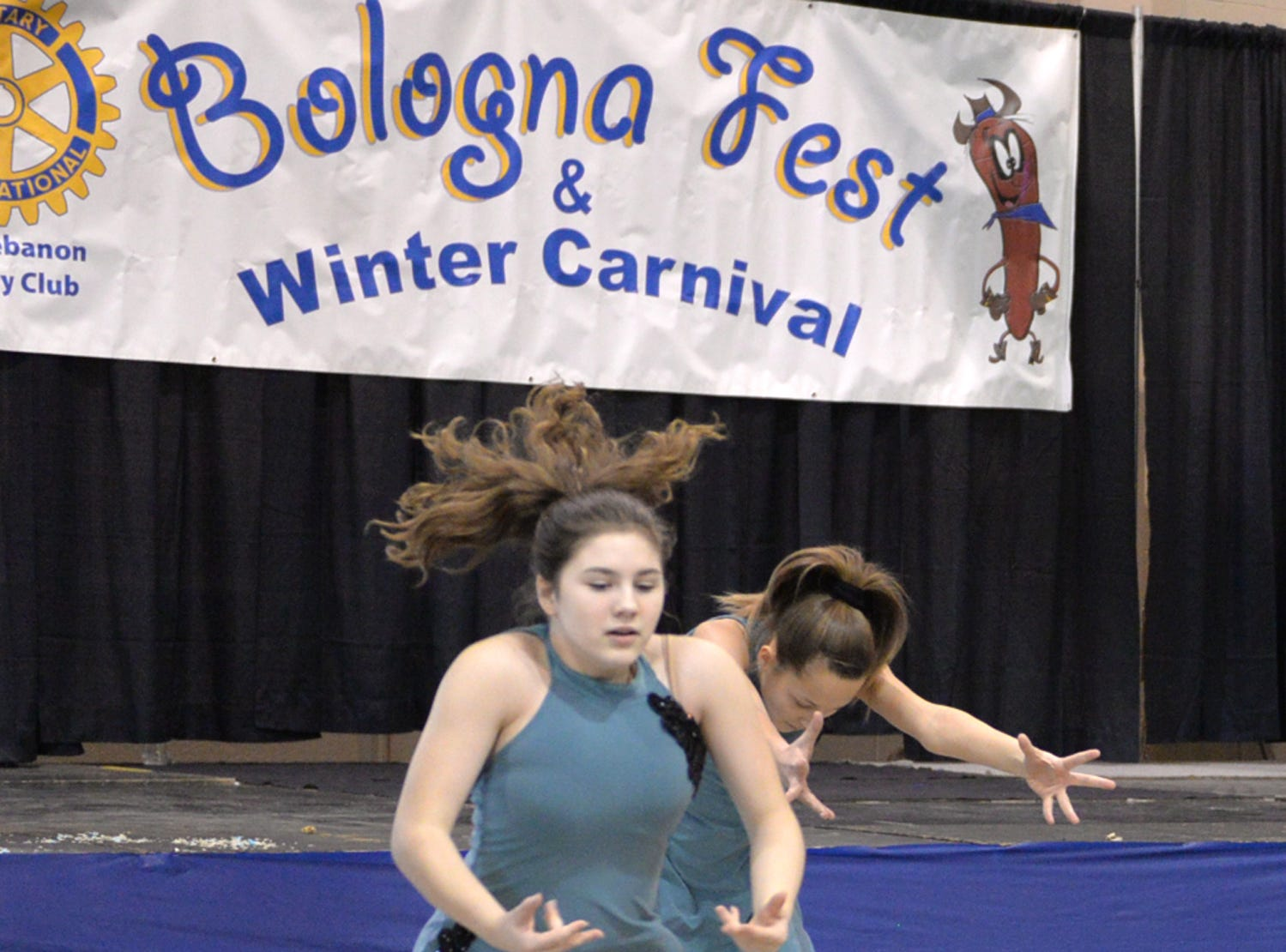 The Jonestown Dance Studio performs at The Lebanon Rotary Club's Bologna Fest & Winter Carnival held on Saturday, January 26 at the Lebanon Valley Expo Center.