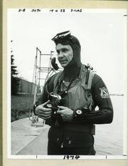 Don Evans in 1974
