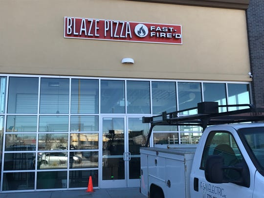 Blaze PIzza, the second in Northern Nevada, is going into the Outlets at Legends in Sparks.
