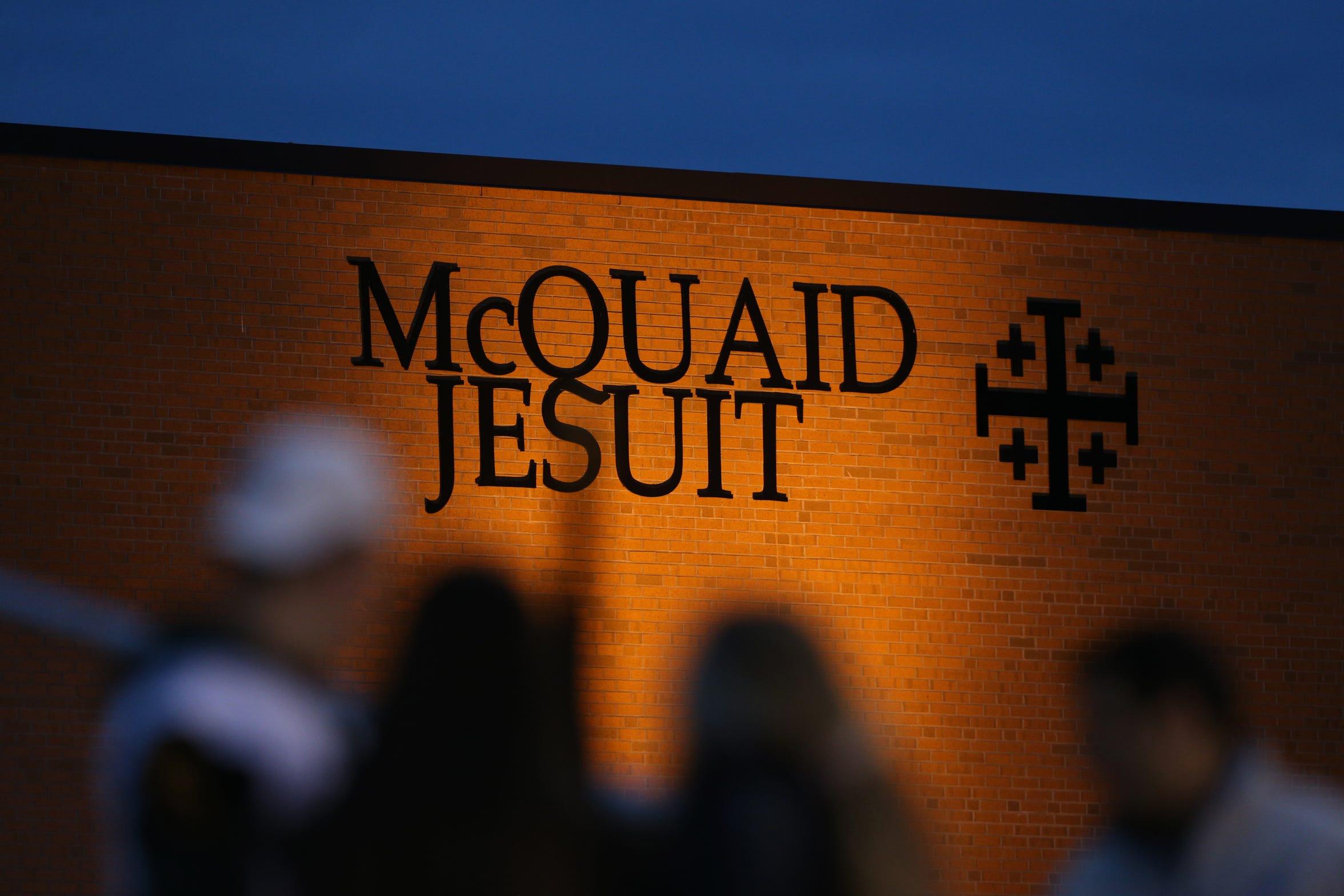 McQuaid High School.