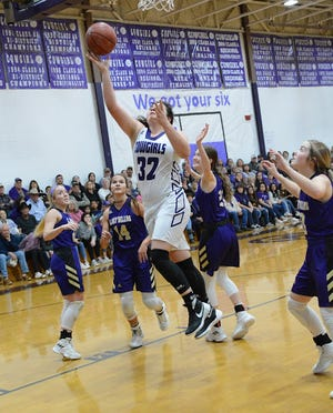 Mason High School senior Ruby Magnus has scored more than 1,800 points and collected almost 1,400 rebounds in her career for the Cowgirls basketball team.