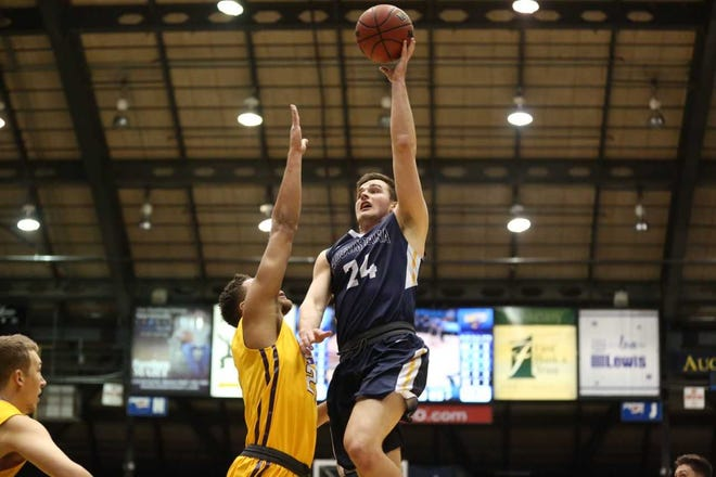 Michael Schaefer is one of several returners who had breakout seasons in 2018-19 for Augustana.