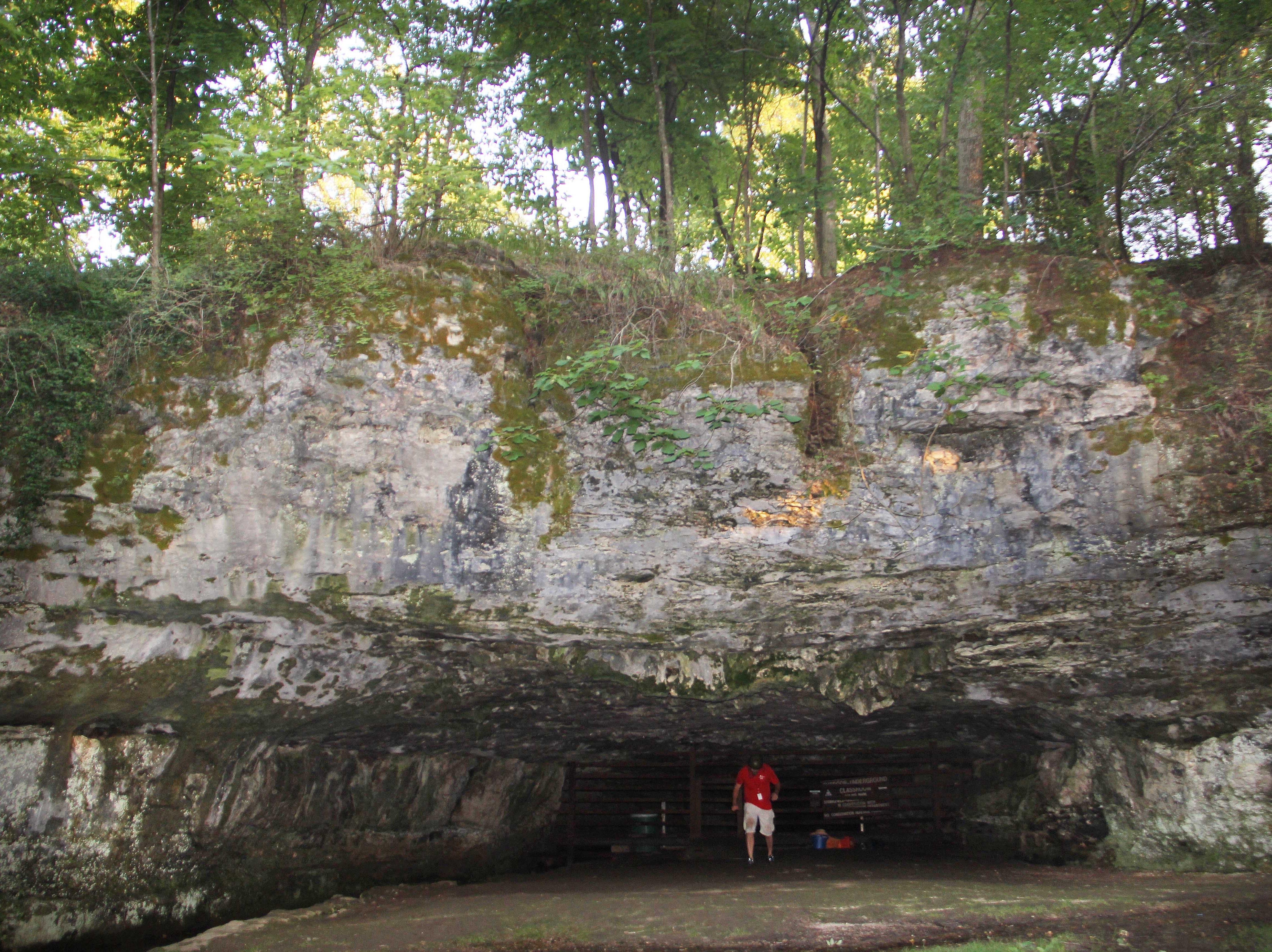 Giboney Cave in Doling Park.