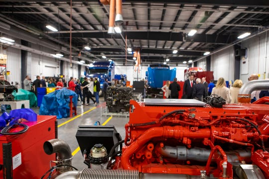 OTC celebrates opening of the new MHC Diesel Technician Training Center.