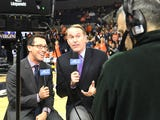 Dan Bonner tells what he likes most about his job as a television analyst for college basketball.