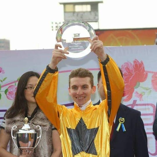 Twenty-six-year-old Ryan Curatolo won the $500,000 Qatar Derby, one of five races he's won in his first month in Qatar.