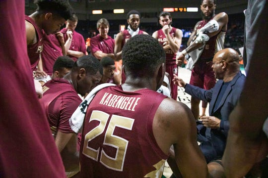 Head coach Leonard Hamilton and his Florida State squad picked up their first ACC road win of the season on Sunday night.