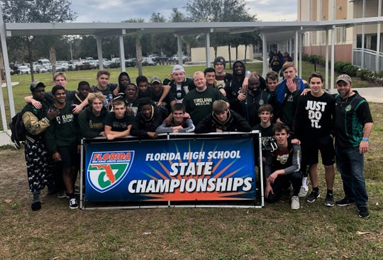 Lincoln's wrestling team made the Class 2A state semifinals of the FHSAA Wrestling Dual State Championships in Kissimmee.