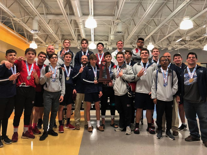 Wakulla's wrestling team captured Class 1A state runner-up at the FHSAA Wrestling Dual State Championships last weekend in Kissimmee. The War Eagles are the first area team to bring home a state trophy.