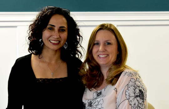 Sally Alkayaly, left, director of Little Rising Stars, and Stephanie Harmody, Indian River State College adjunct instructor of Statewide Child Care Training.