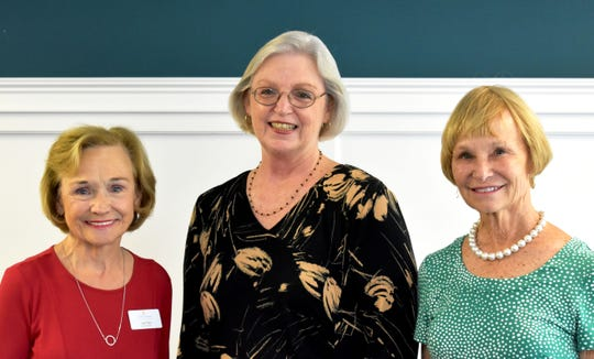 Indian River State College Dean of Industrial Education Donna Rivett, center, with Childcare Resources of Indian River Program Committee members Carol Buhl, left, and Jen Vail.