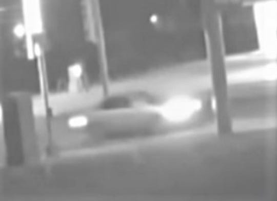 A security camera photo shows a car suspected in hit-and-run that killed Juan Manuel Pasillas on Jan. 26, 2019, on Dyer Street and Sun Valley Drive.