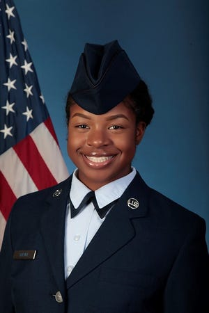 U.S. Air Force Airman Wanisha R. Spence