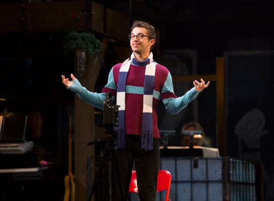 "Logan Marks in ""Rent"""