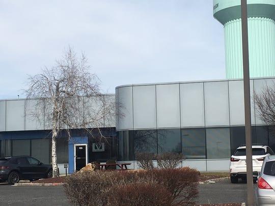 The headquarters of fruit distributor Jac. Vandenberg Inc. at 100 Corporate Boulevard in Yonkers
