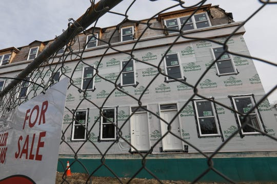 Work on a Wilmington Housing Partnership project at Vandever Avenue and Pine Street has come to a halt. The city will now take over two Wilmington Housing Partnership projects.
